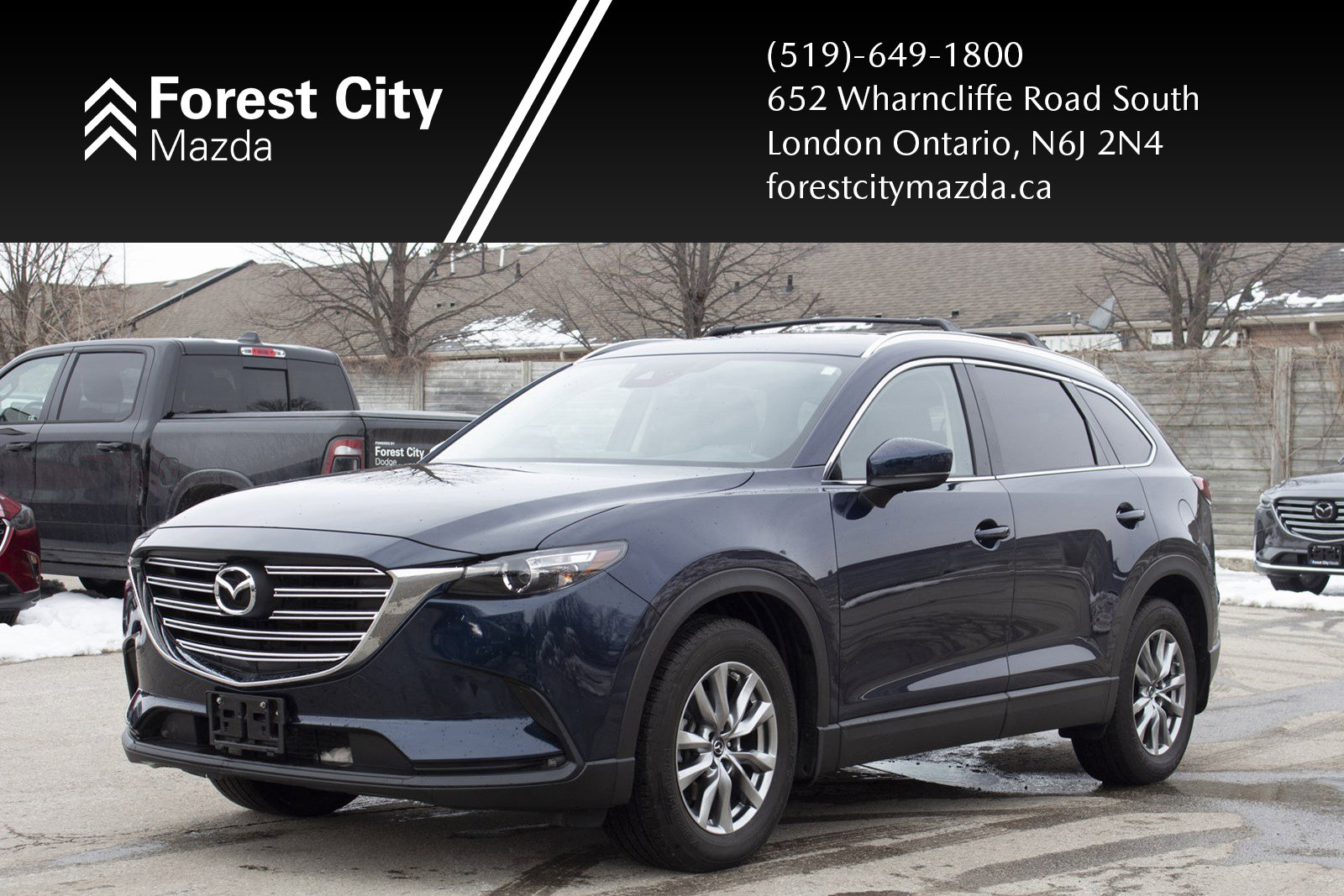 Pre-Owned 2018 Mazda CX-9 GS-LUXURY,LEATHER,MOONROOF,NAVIGATION