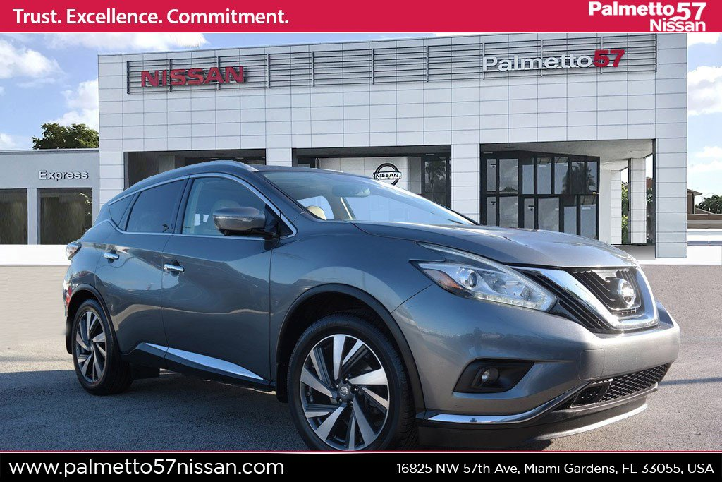Pre-Owned 2015 Nissan Murano Platinum