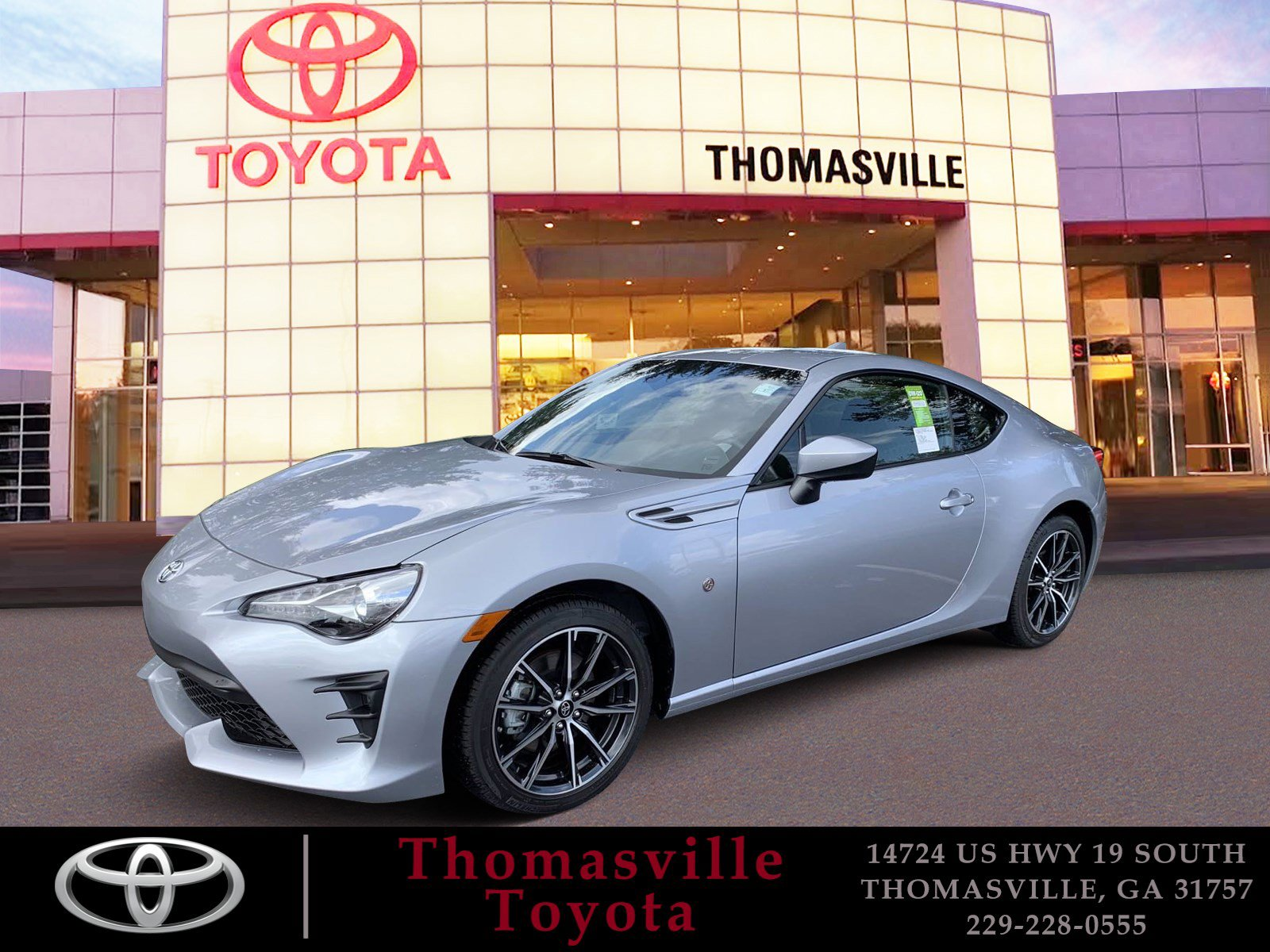 New 2020 Toyota 86 2DR CPE AT