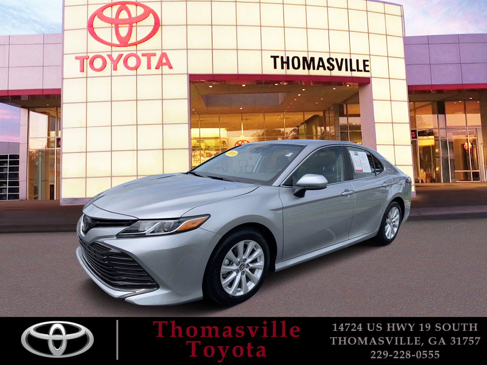 Pre-Owned 2019 Toyota Camry LE FWD 4dr Car
