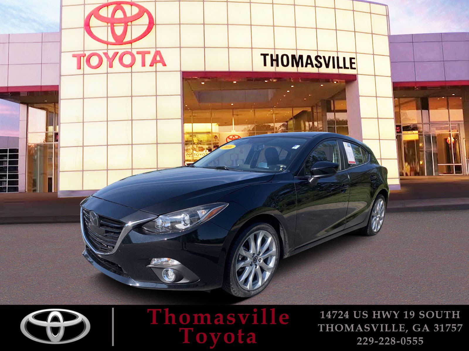 Pre-Owned 2016 Mazda3 s Touring With Navigation