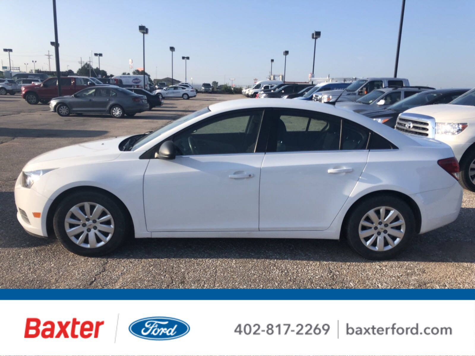 Pre-Owned 2011 Chevrolet Cruze LS