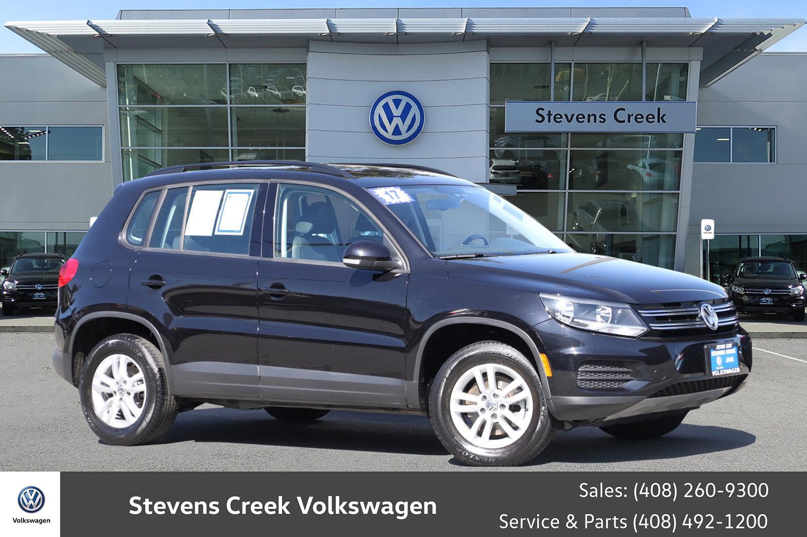Certified Pre-Owned 2017 Volkswagen Tiguan 2.0T S