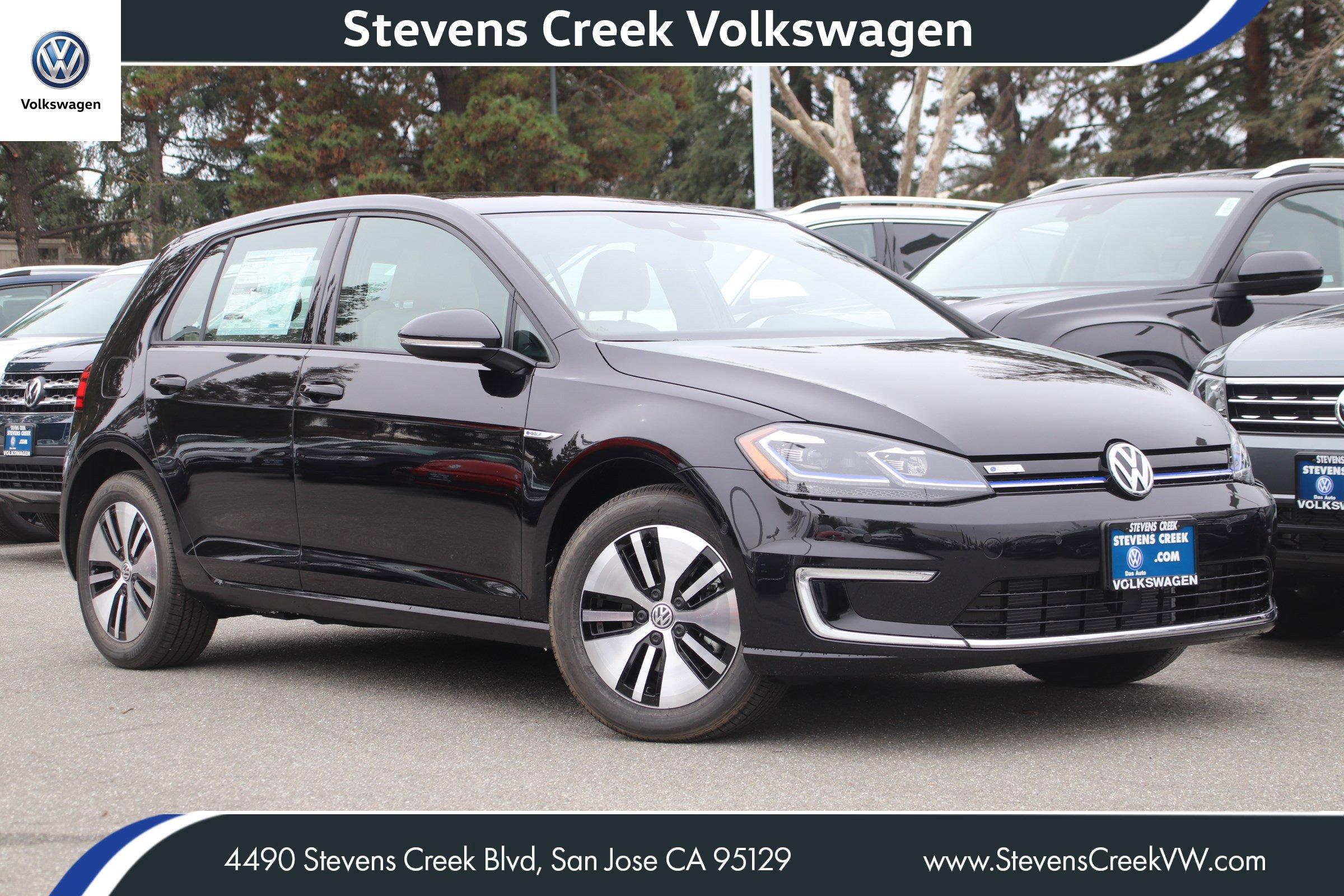 New 2019 Volkswagen e-Golf SEL Premium