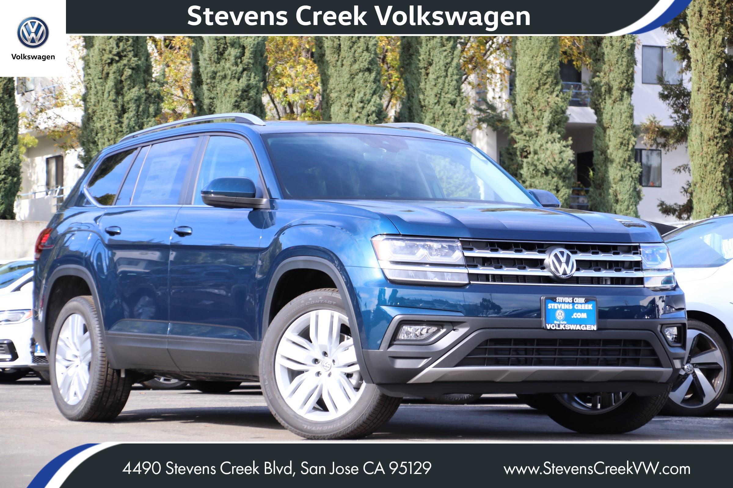 New 2019 Volkswagen Atlas 3.6L V6 SE w/Technology