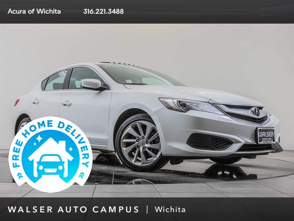 Pre-Owned 2017 Acura ILX 1-Owner