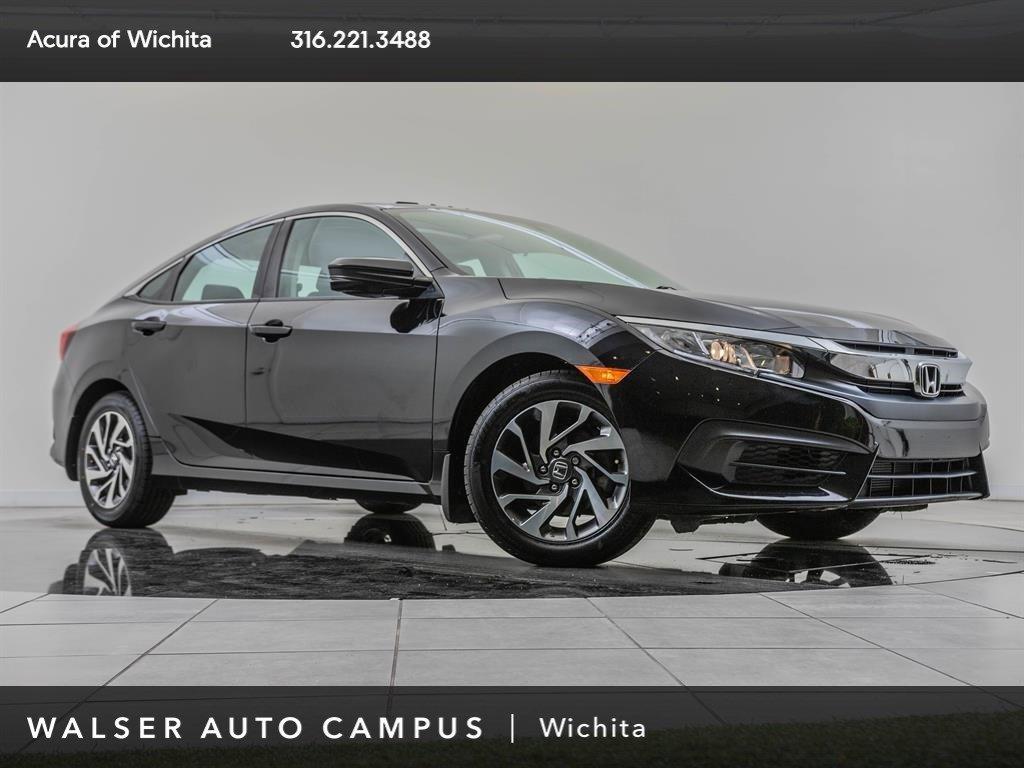 Pre-Owned 2016 Honda Civic Sedan EX