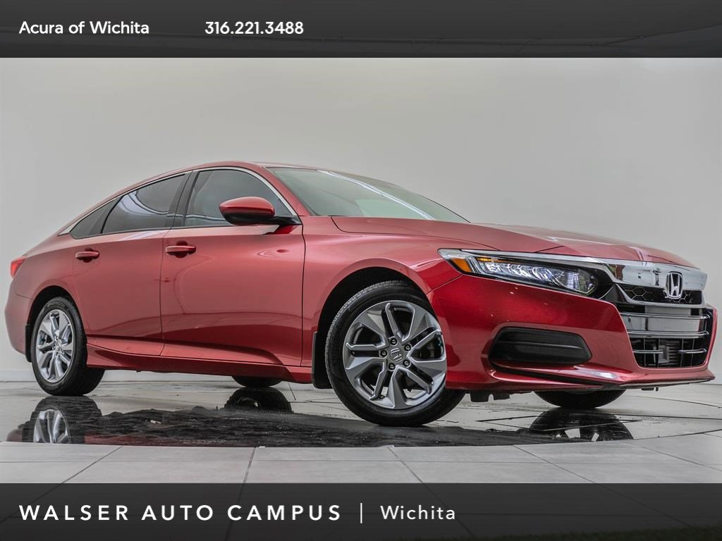 Pre-Owned 2018 Honda Accord Sedan LX