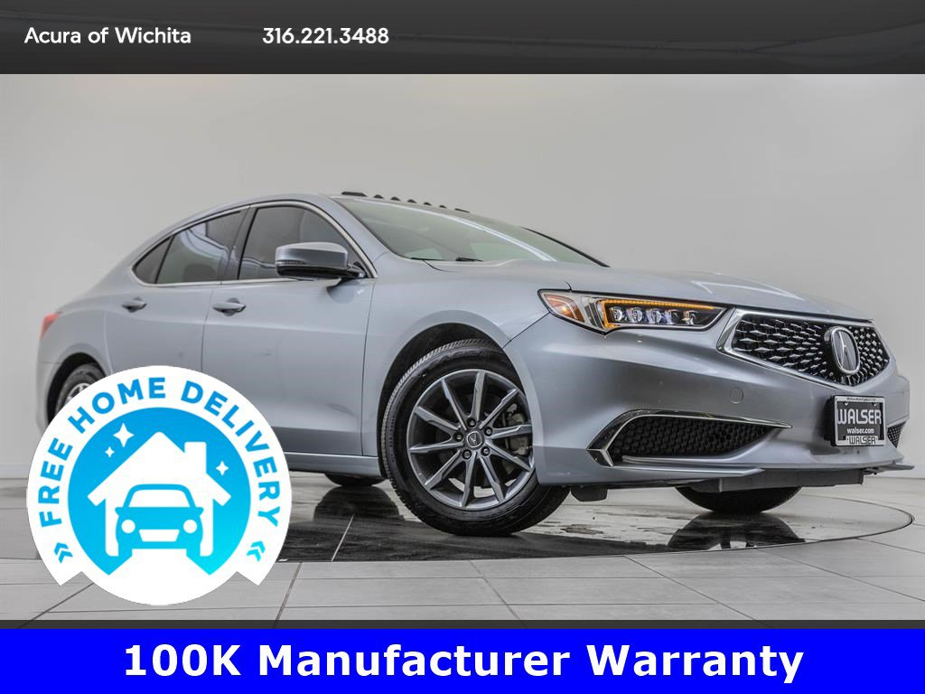 Certified Pre-Owned 2018 Acura TLX Navigation, Technology Package