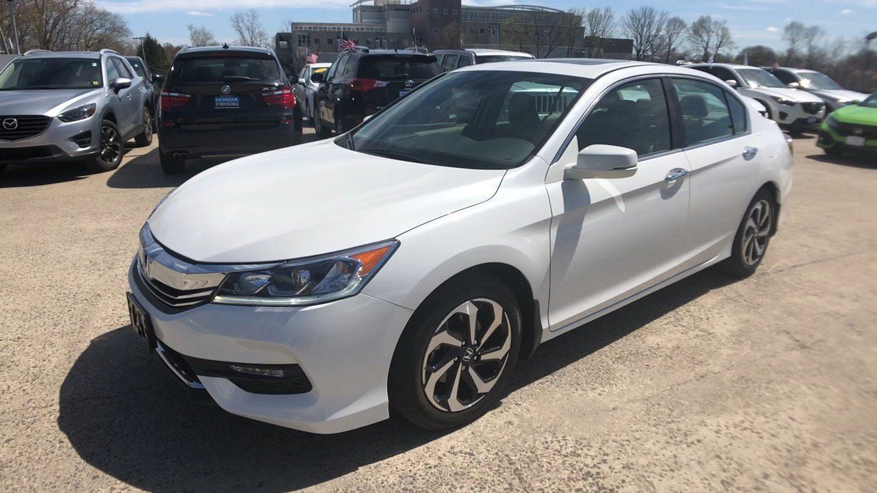 2017 Honda Accord White >> New 2017 Honda Accord Ex L 4d Sedan In New Rochelle