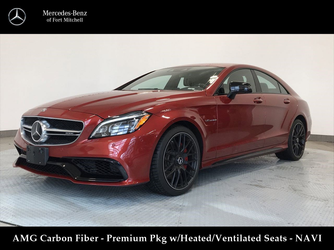 Certified Pre-Owned 2017 Mercedes-Benz CLS AMG® CLS 63 S
