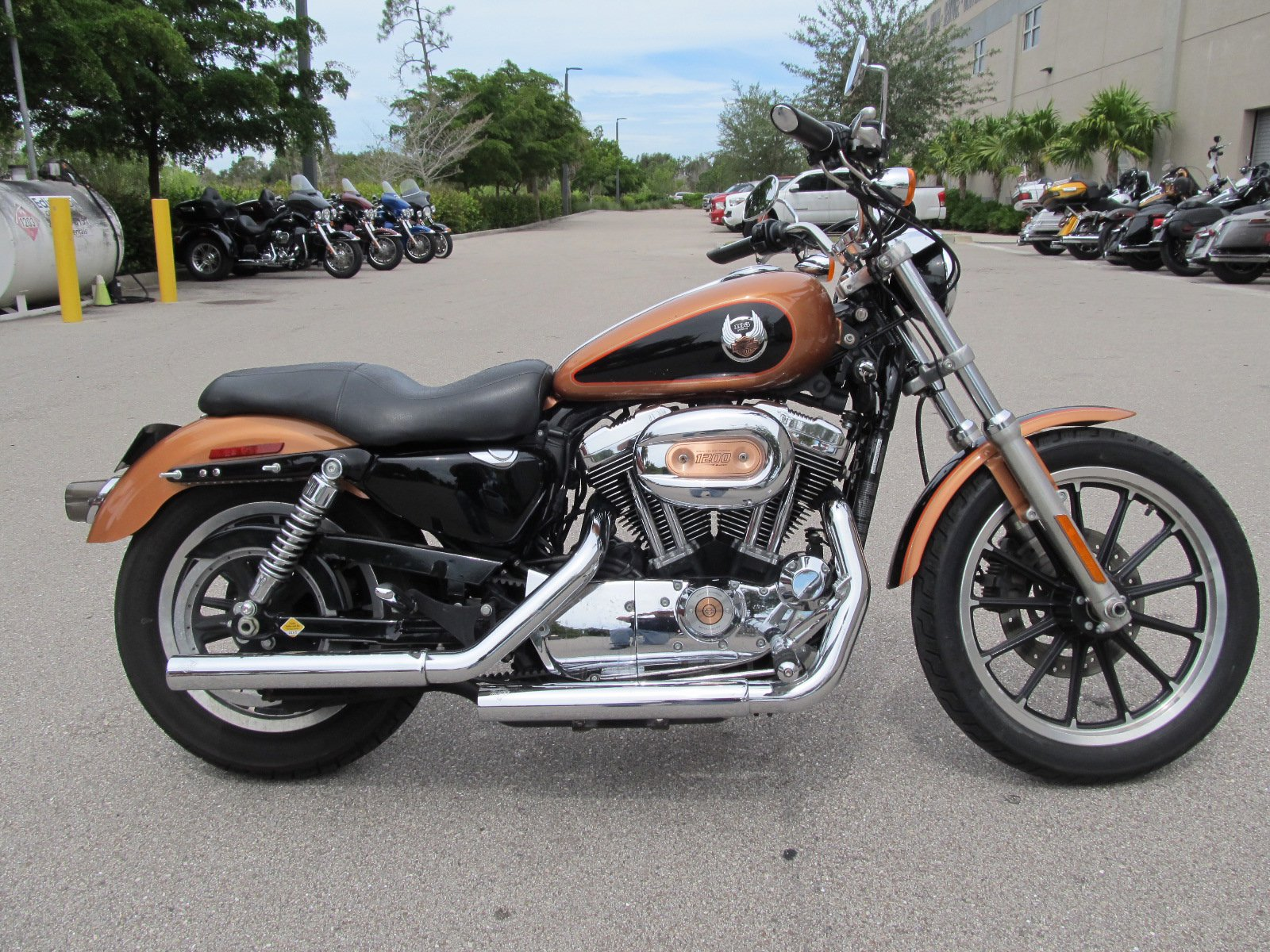 Pre-Owned 2008 Harley-Davidson Sportster 1200 Low 105th Anniversary XL1200L