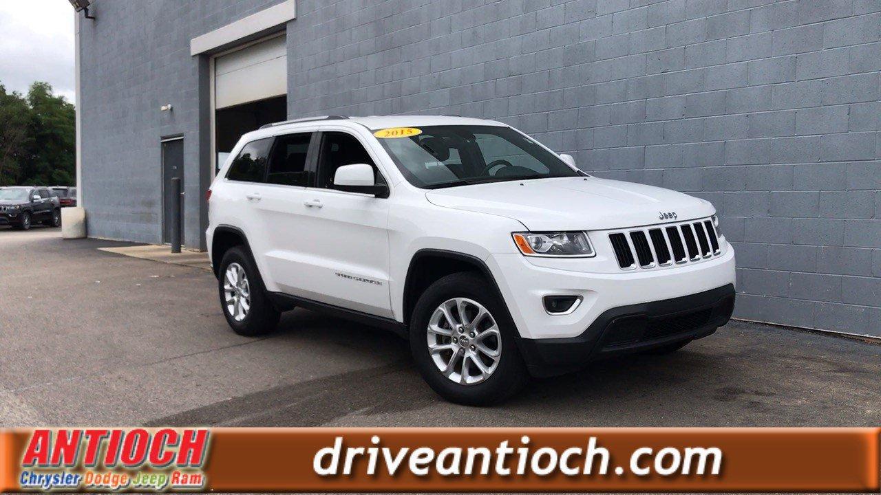Certified Pre-Owned 2015 Jeep Grand Cherokee Laredo