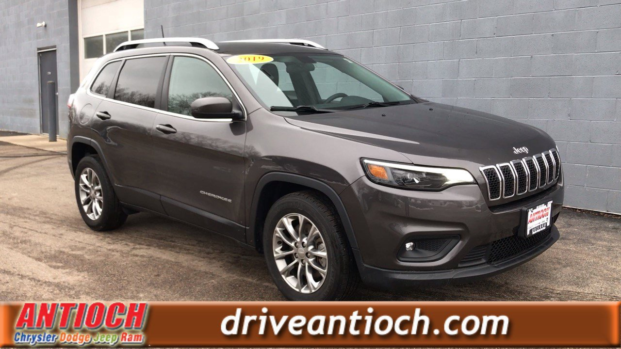 Certified Pre-Owned 2019 Jeep Cherokee Latitude Plus