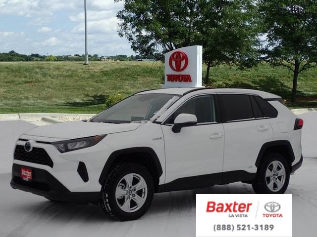 New 2020 Toyota RAV4 Hybrid LE