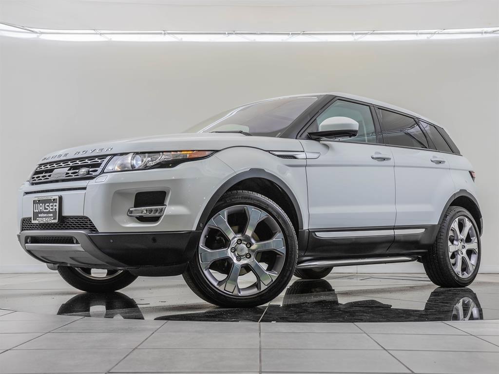 Pre-Owned 2015 Land Rover Range Rover Evoque Factory Wheel Upgrade, Navigation, Prestige