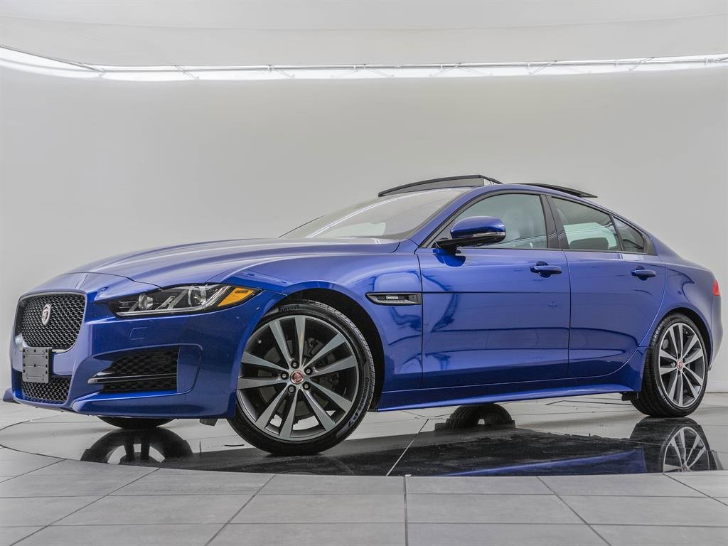 Pre-Owned 2017 Jaguar XE Factory Wheel Upgrade, Navigation, Technology