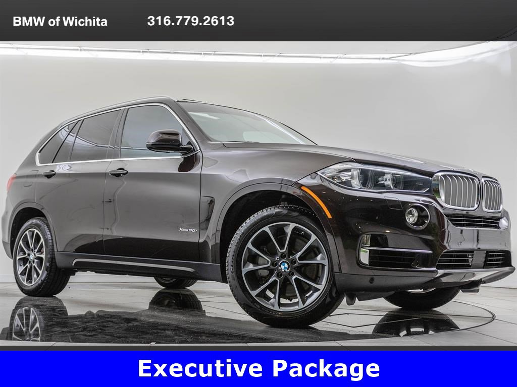 Pre-Owned 2017 BMW X5 xDrive50i, Executive Package