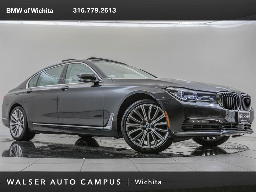 Pre-Owned 2016 BMW 7 Series Factory Wheel Upgrade, Nav., Autobahn Package