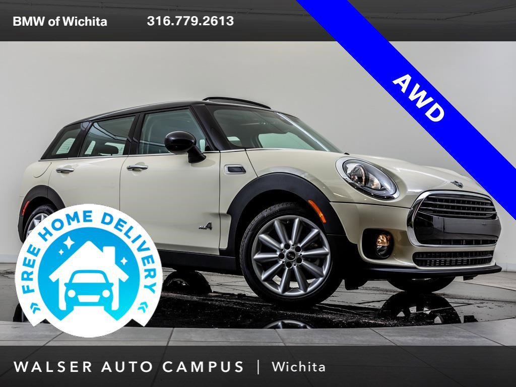 Pre-Owned 2019 MINI Cooper Clubman ALL4 Signature Trim Package