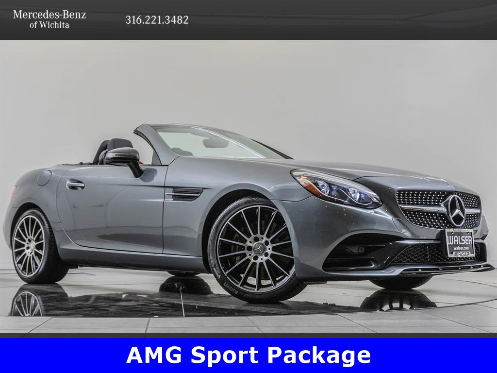 Pre-Owned 2017 Mercedes-Benz SLC SLC 300, AMG® Sport