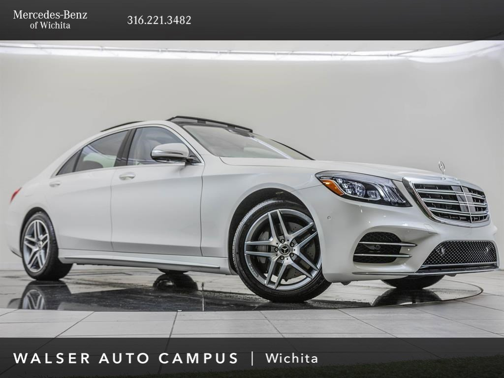 2020 Mercedes-Benz S-Class S 560 4MATIC Sedan Lease Deals
