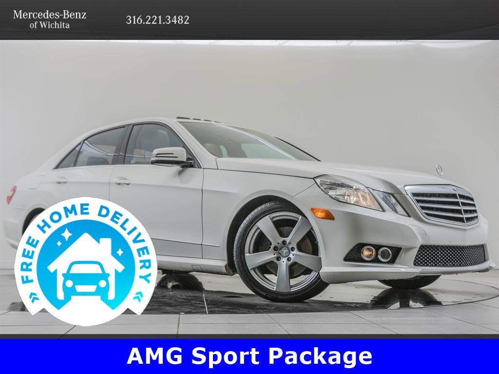 Pre-Owned 2010 Mercedes-Benz E-Class Navigation, AMG® Sport, Premium 1