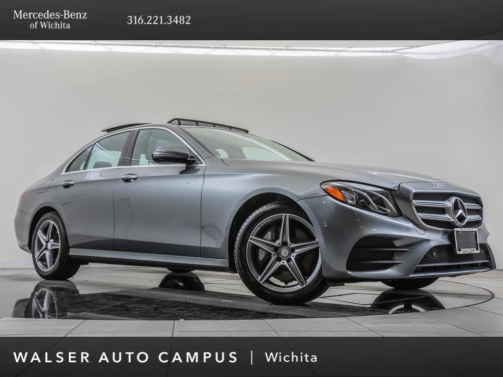 Pre-Owned 2017 Mercedes-Benz E-Class E 300 Sport 4MATIC, AMG® Sport Package, Premium 1