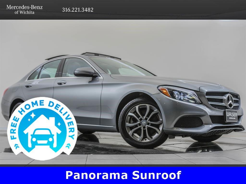 Pre-Owned 2016 Mercedes-Benz C-Class C 300 Sport 4MATIC®, Navigation, Premium 2