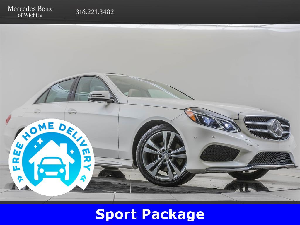 Pre-Owned 2014 Mercedes-Benz E-Class Driver Assistance Package