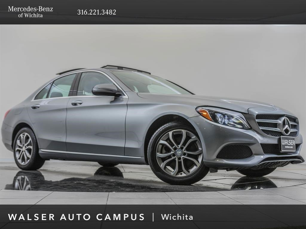Pre-Owned 2016 MERCEDES-BENZ C300 4MATIC C 300