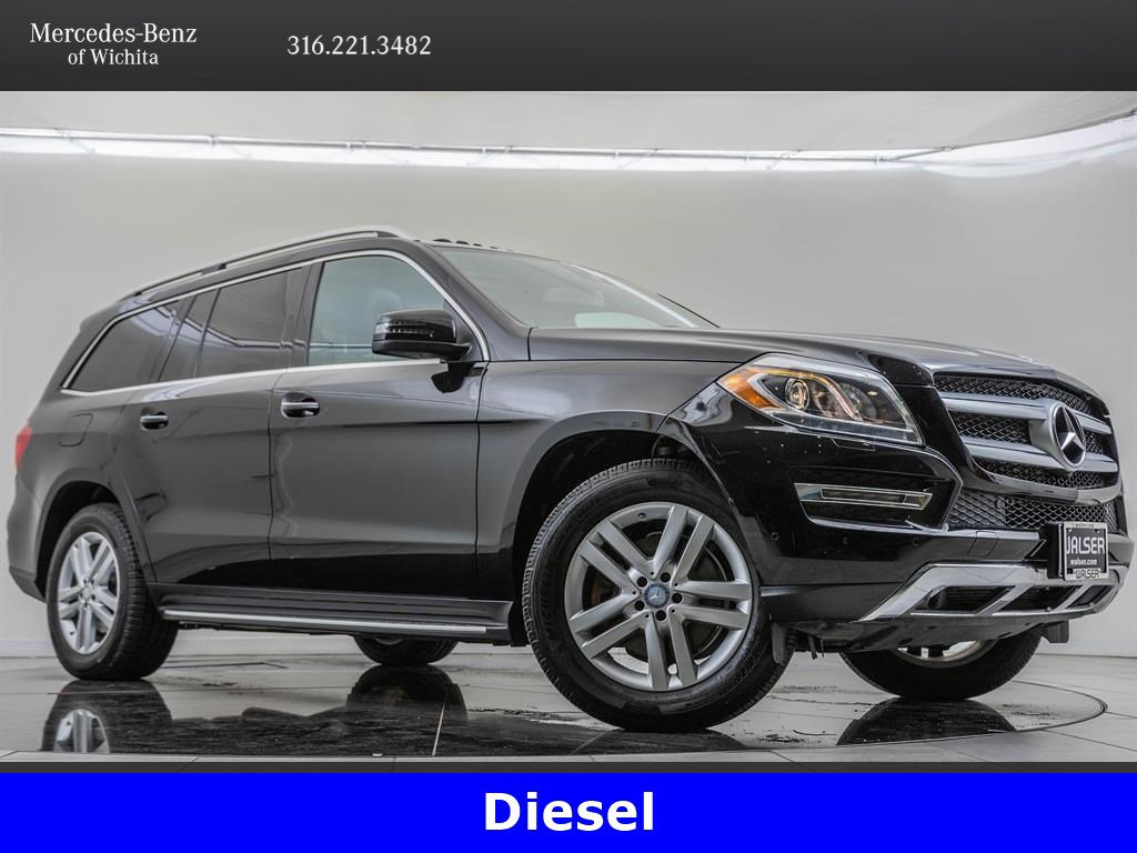 Pre-Owned 2016 Mercedes-Benz GL GL 350 BlueTEC 4MATIC®, Navigation, Premium 1