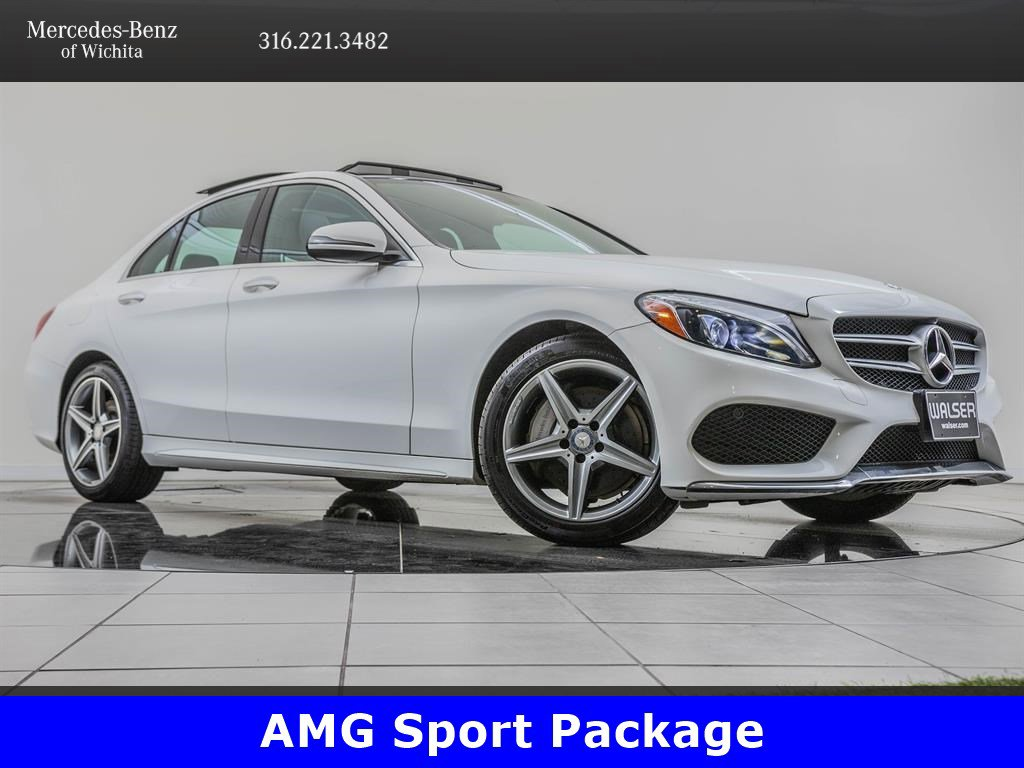 Pre-Owned 2017 Mercedes-Benz C-Class C 300 4MATIC®, Sport Package