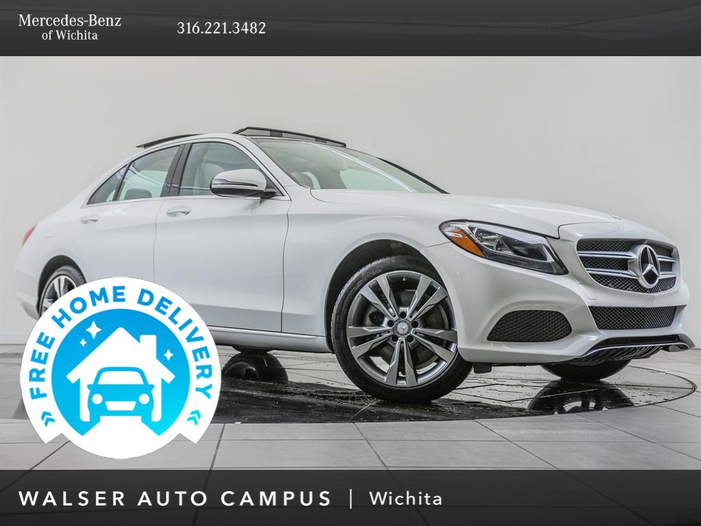 Pre-Owned 2017 Mercedes-Benz C-Class C 300 Sport 4MATIC®, Premium 1 Package
