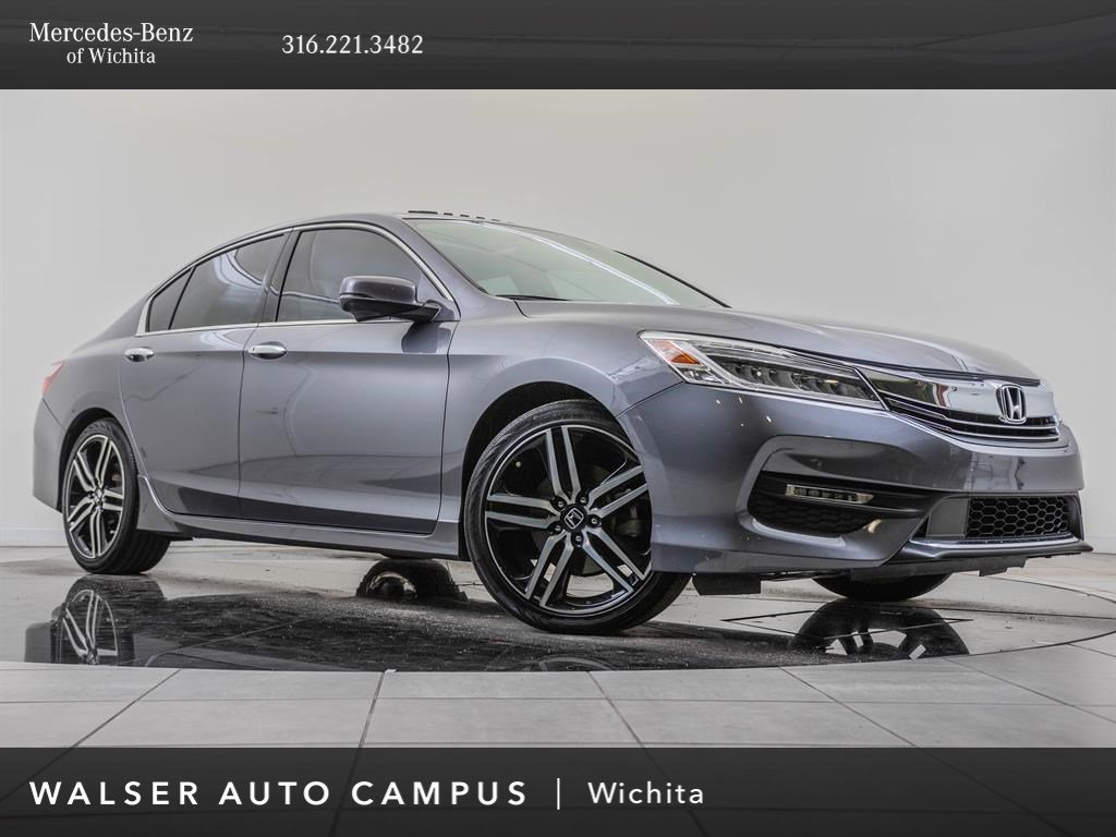 Pre-Owned 2016 Honda Accord Sedan Touring V-6