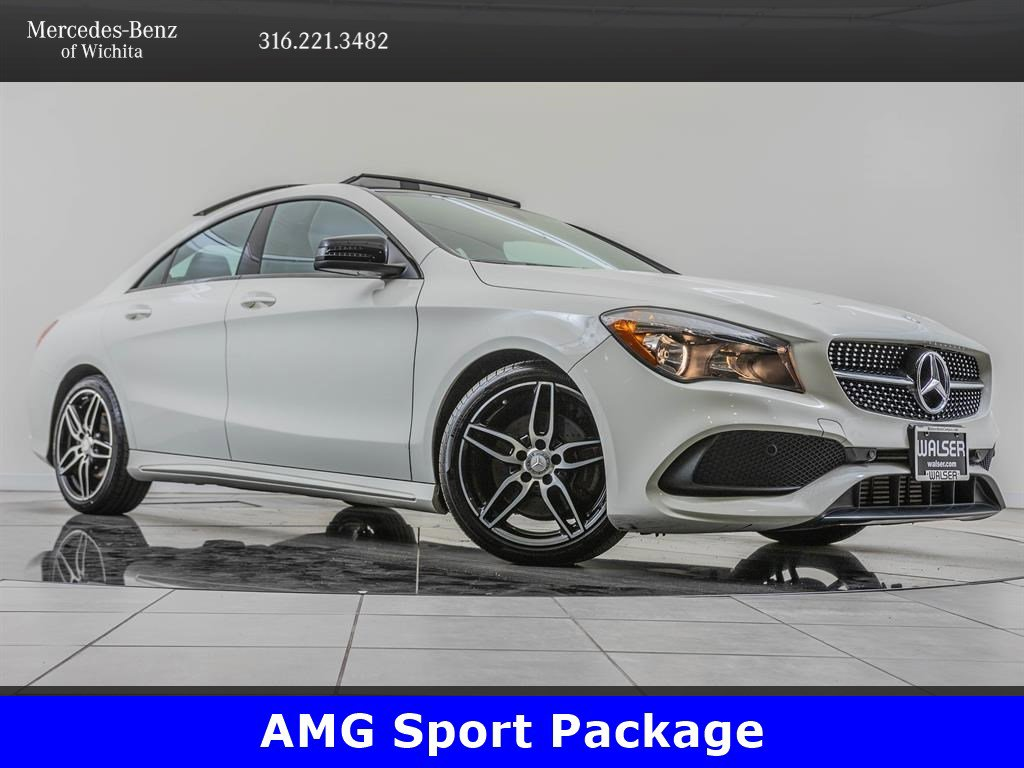 Pre-Owned 2017 Mercedes-Benz CLA CLA 250 4MATIC, AMG® Sport Package, Premium 1