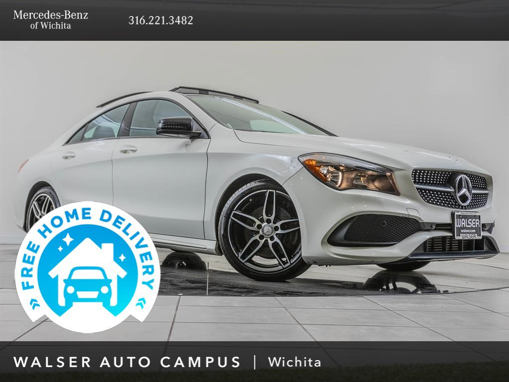 Pre-Owned 2017 Mercedes-Benz CLA Premium Package
