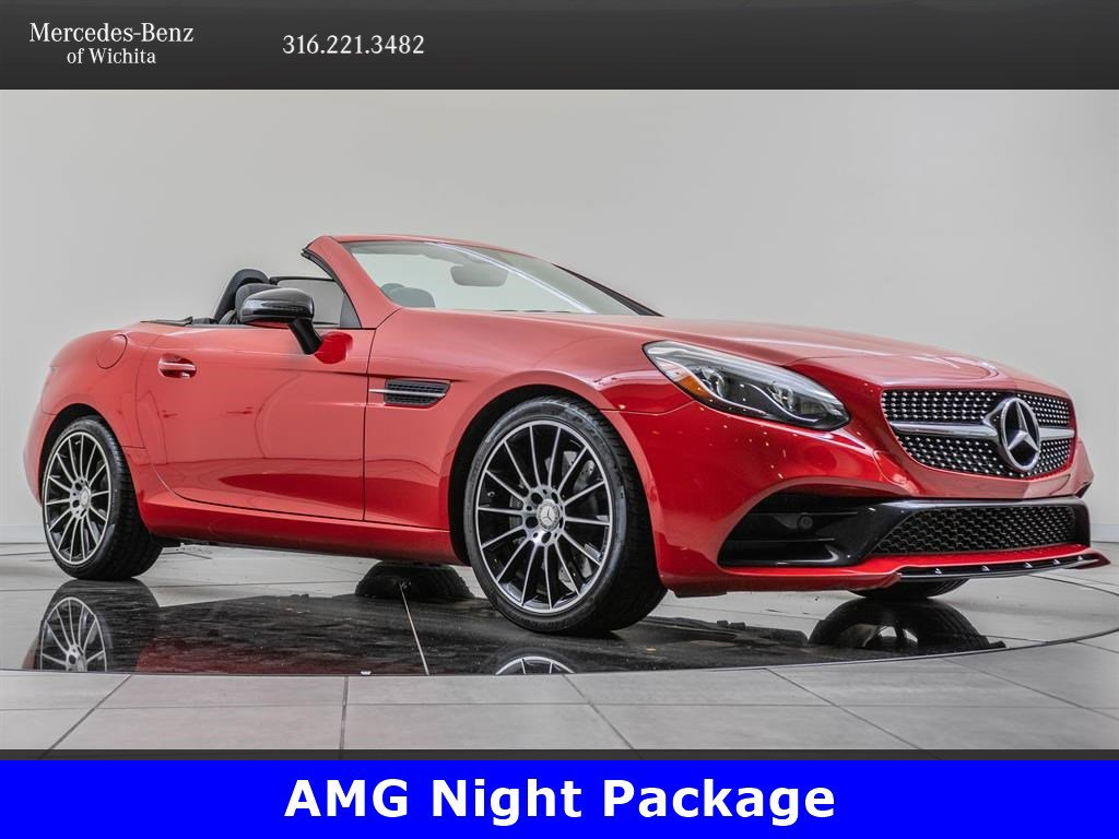Pre-Owned 2017 Mercedes-Benz SLC SLC 300, AMG® Sport, Premium 2