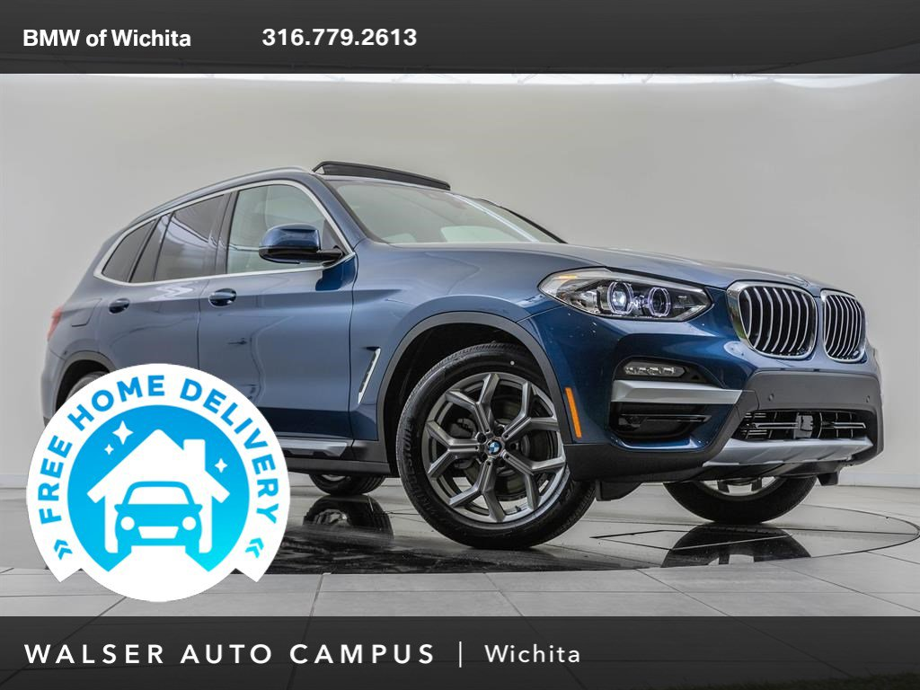 New 2020 BMW X3 Hybrid xDrive30e With Navigation & AWD