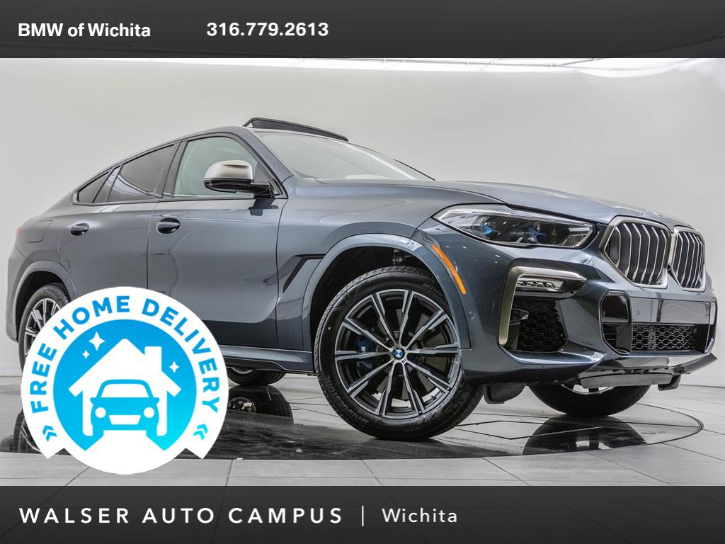 New 2020 BMW X6 M50i With Navigation & AWD