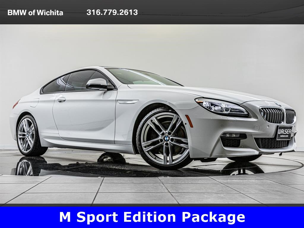 Pre-Owned 2016 BMW 6 Series 650i, M Sport Edition Package
