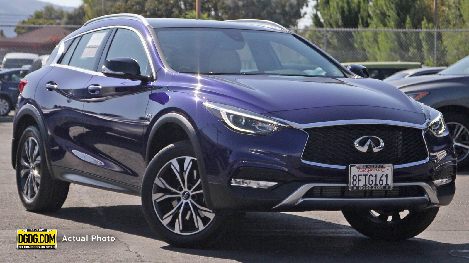 "Certified Pre-Owned 2018 INFINITI<br /><span class=""vdp-trim"">QX30 Premium AWD Sport Utility</span>"