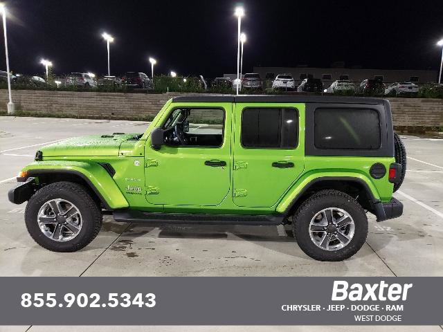 New 2019 Jeep Wrangler Unlimited UNLIMITED SAHARA 4X4