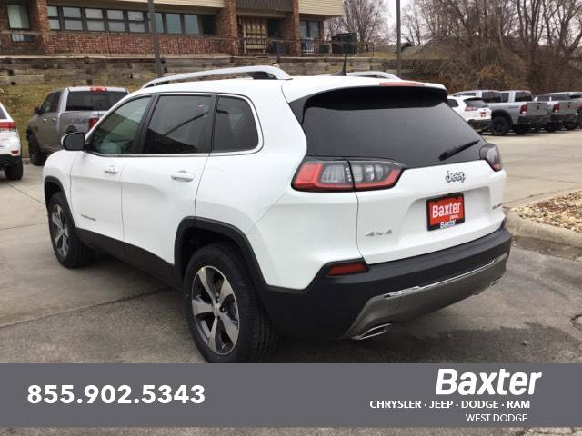 New 2020 Jeep Cherokee LIMITED 4X4