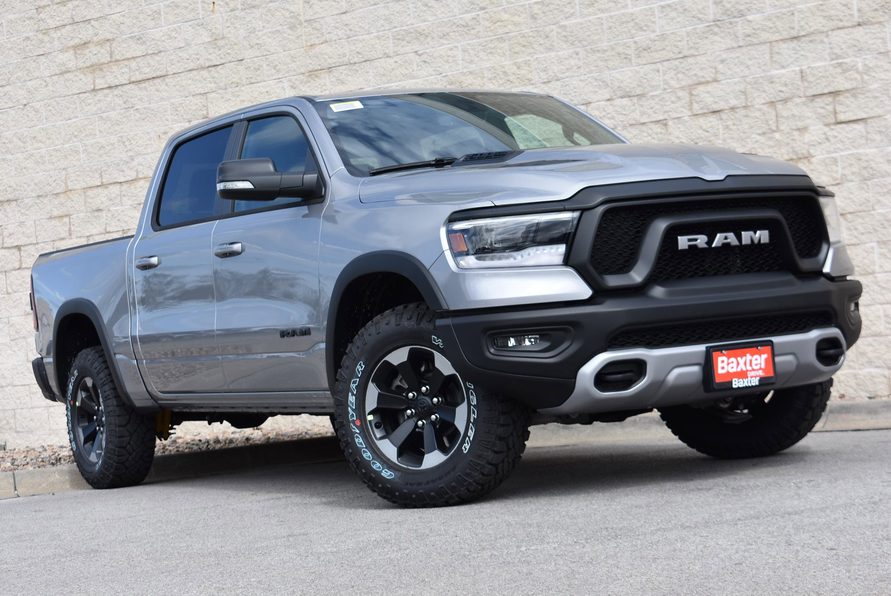 New 2020 Ram All-New 1500 REBEL CREW CAB 4X4 5'7 BOX
