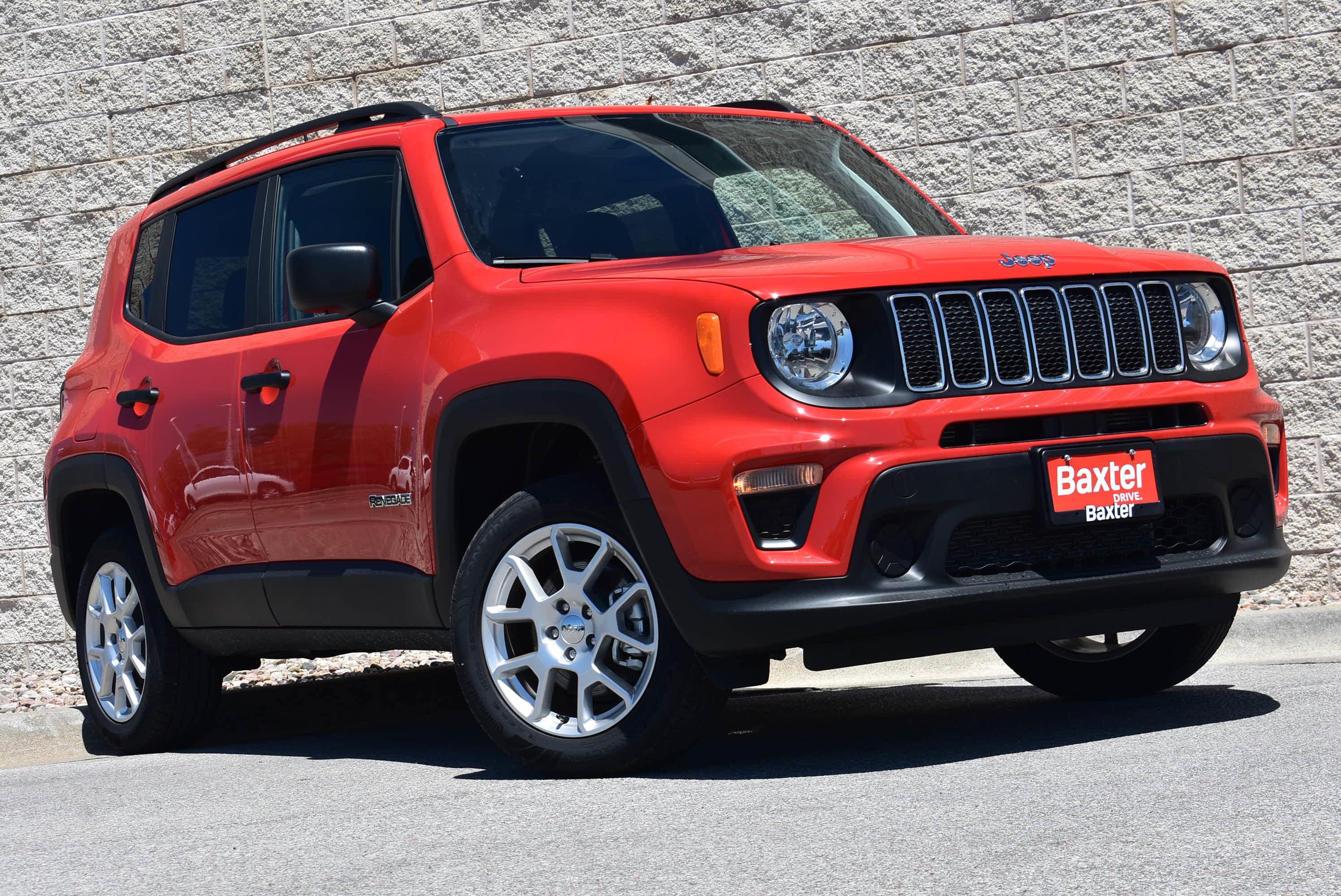 New 2019 Jeep Renegade SPORT 4X4