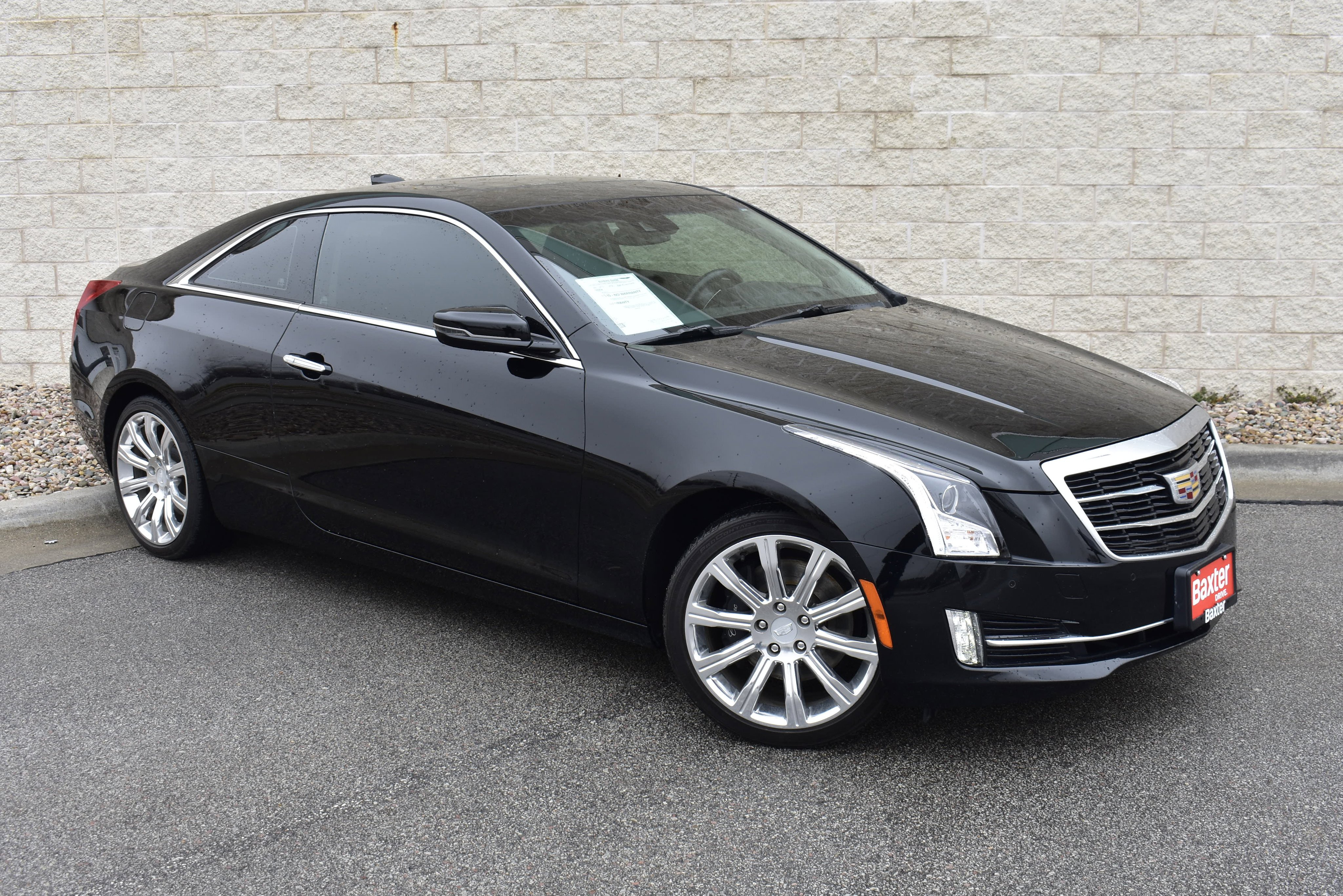 Pre-Owned 2016 Cadillac ATS Coupe Premium Collection AWD