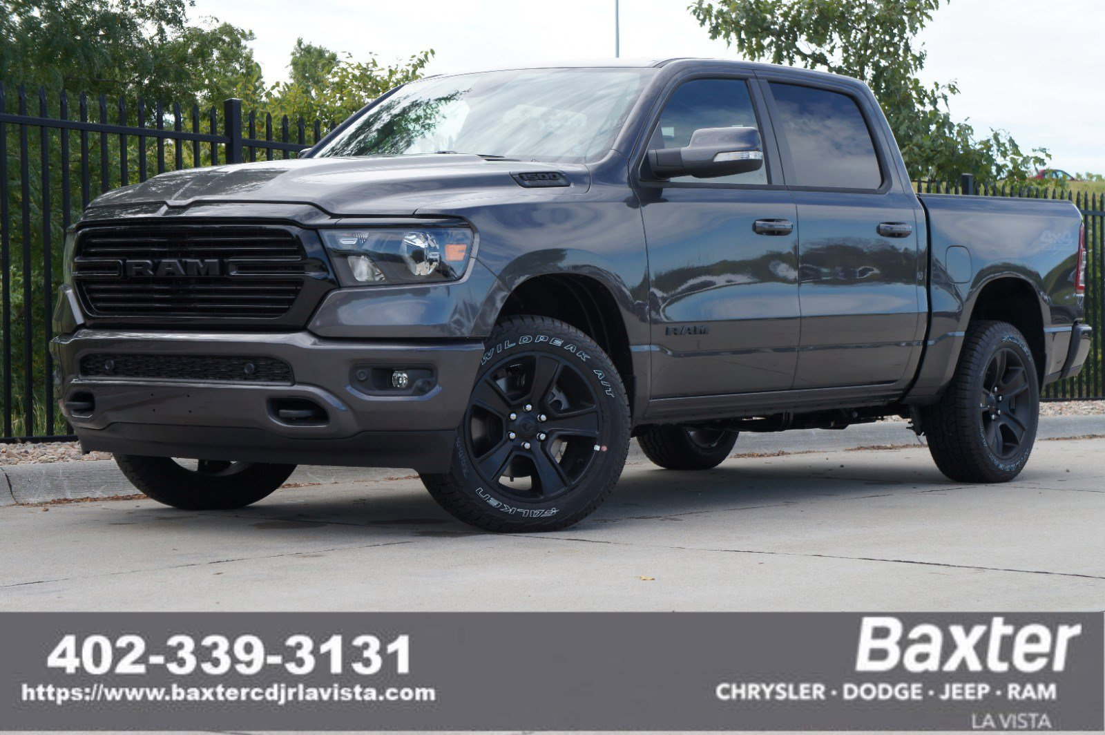New 2020 Ram All-New 1500 BIG HORN CREW CAB 4X4 5'7 BOX