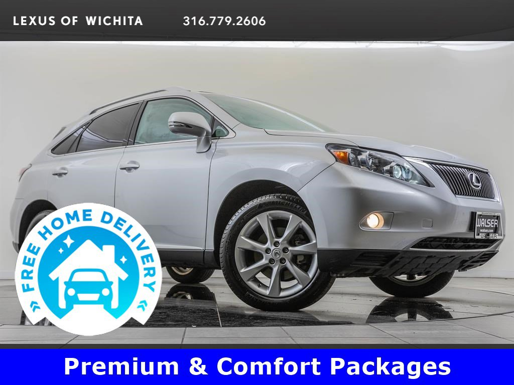 Pre-Owned 2010 Lexus RX 350 Navigation, Premium Package, Comfort Package