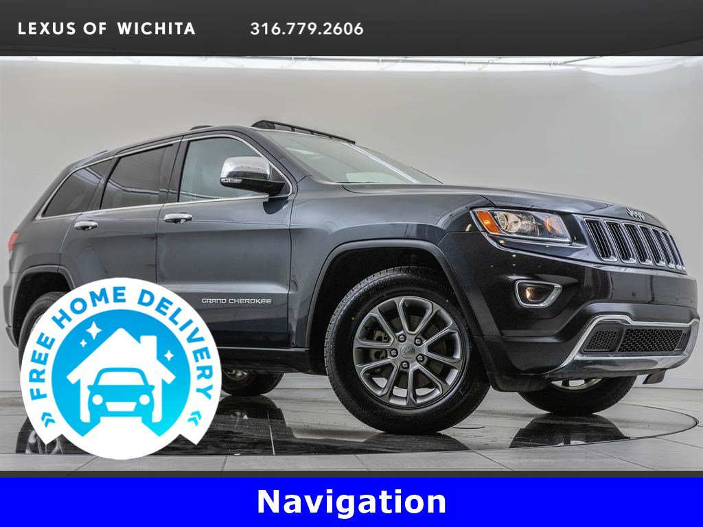 Pre-Owned 2014 Jeep Grand Cherokee Navigation, Uconnect